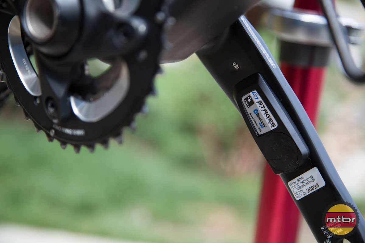 Mark Weir's Stages Power Meter