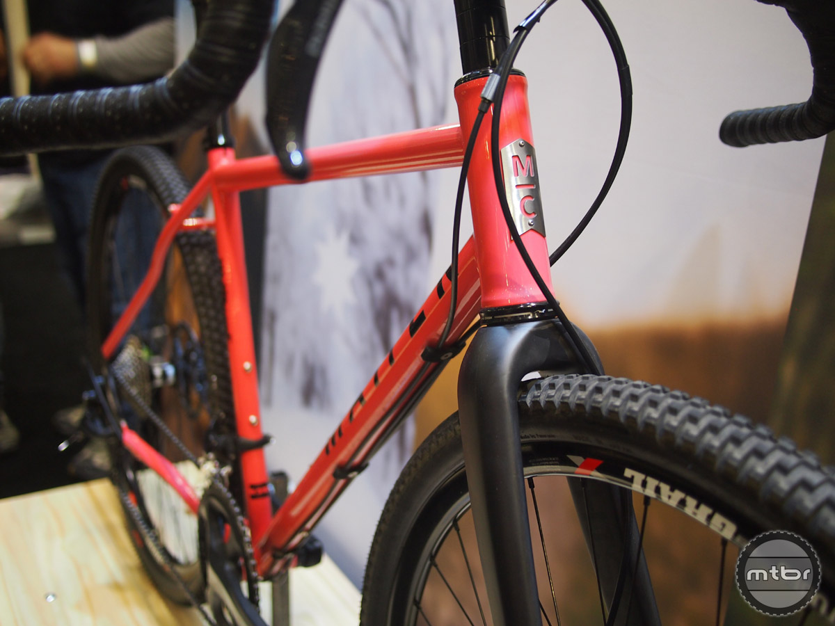 Matter Cycles make a total of 7 different bikes including this gravel grinder/adventure road bike.