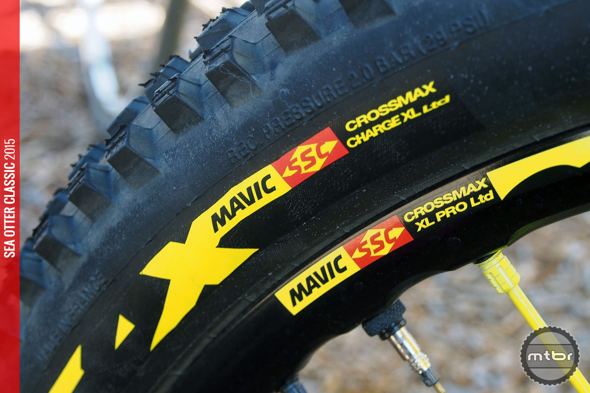 Mavic is a big proponent of the wheel-tire system.
