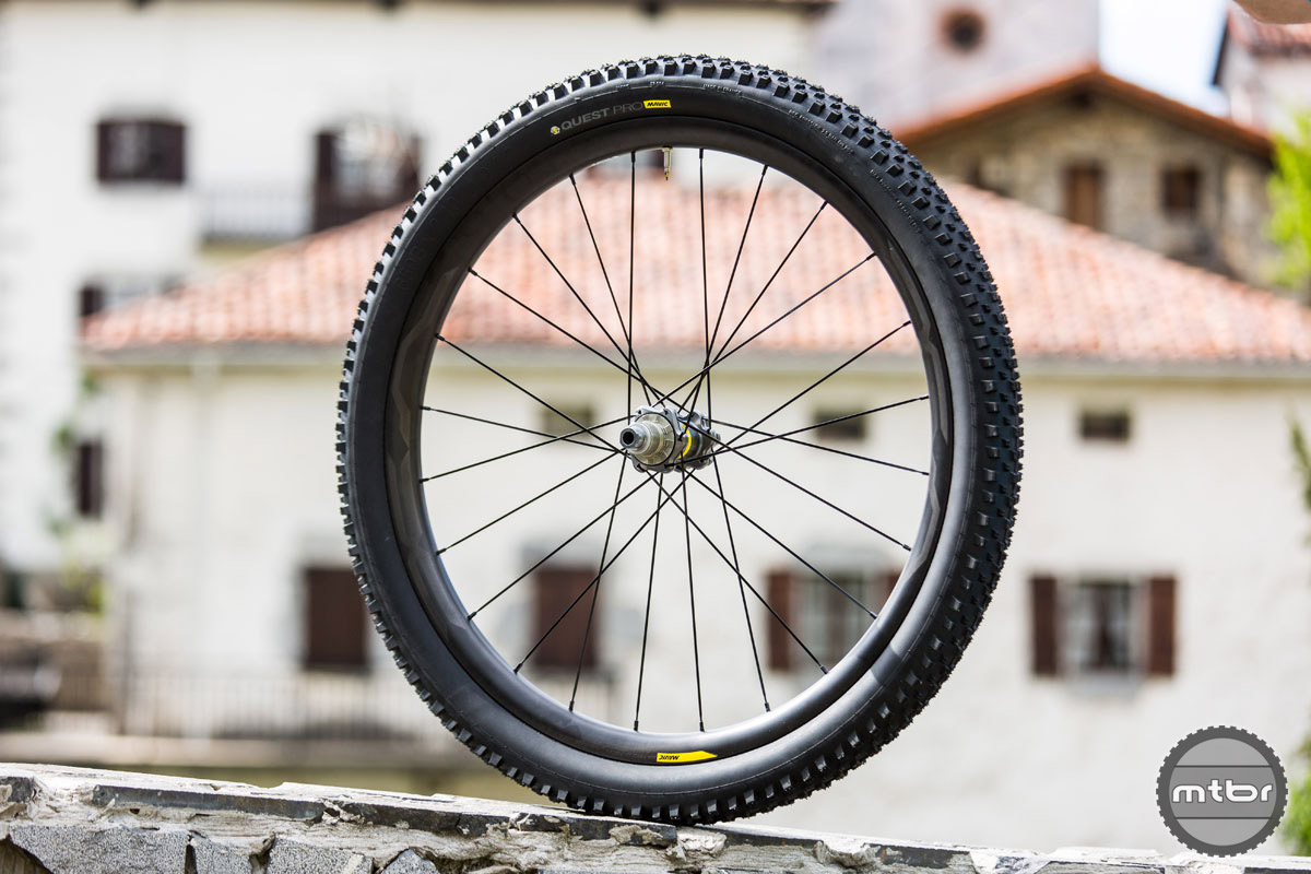 As Mavic sees it, there are three primary types of riding: aggressive downhill/enduro, hard charging XC racing, and everything in between. These wheels are meant to occupy that middle ground.