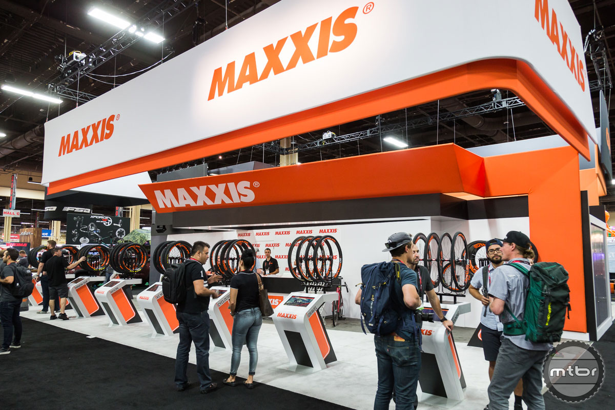 Maxxis Interbike 2017 Booth