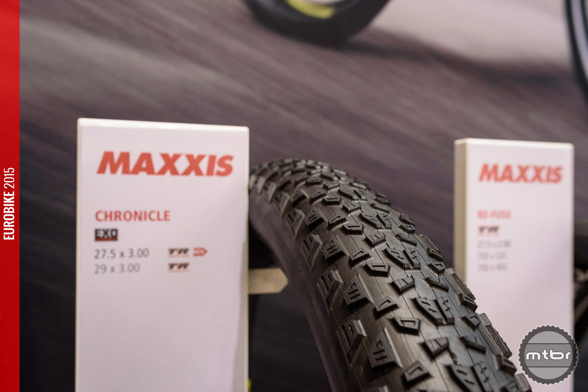 Maxxis Chronicle plus size tire.