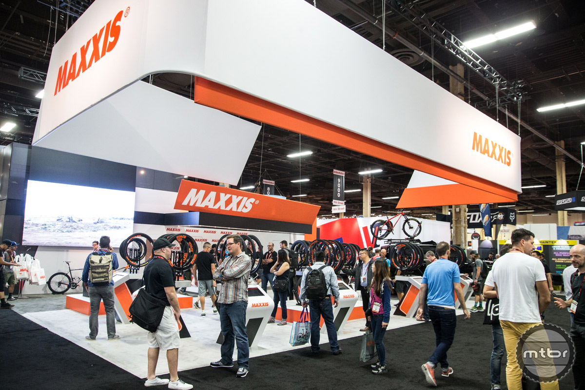 Maxxis Interbike 2016 Booth