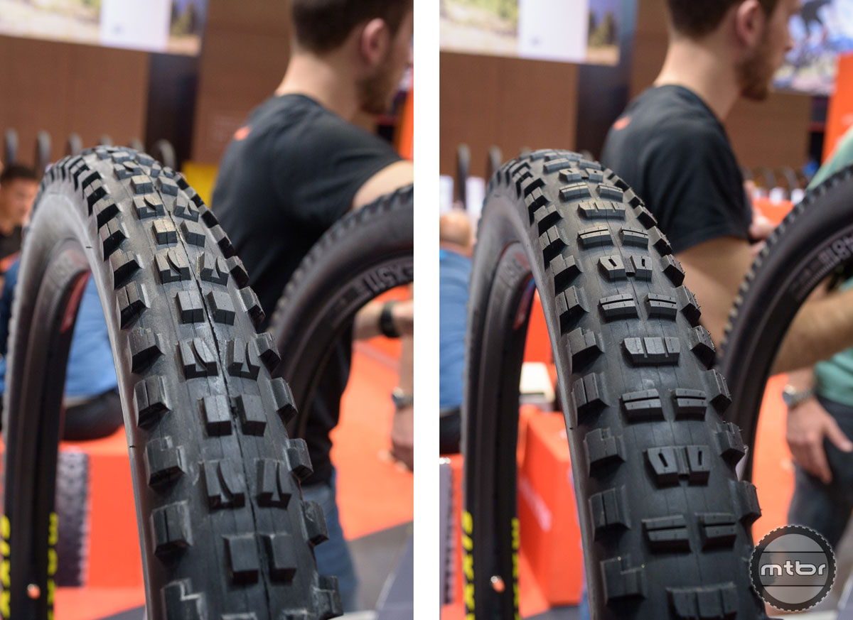 Maxxis Minion DHF and Minion DHR II