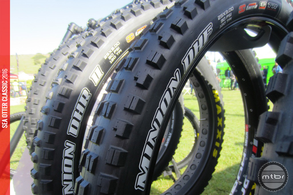 The Minion DHR and DHF, now in plus size for both 27.5 and 29.