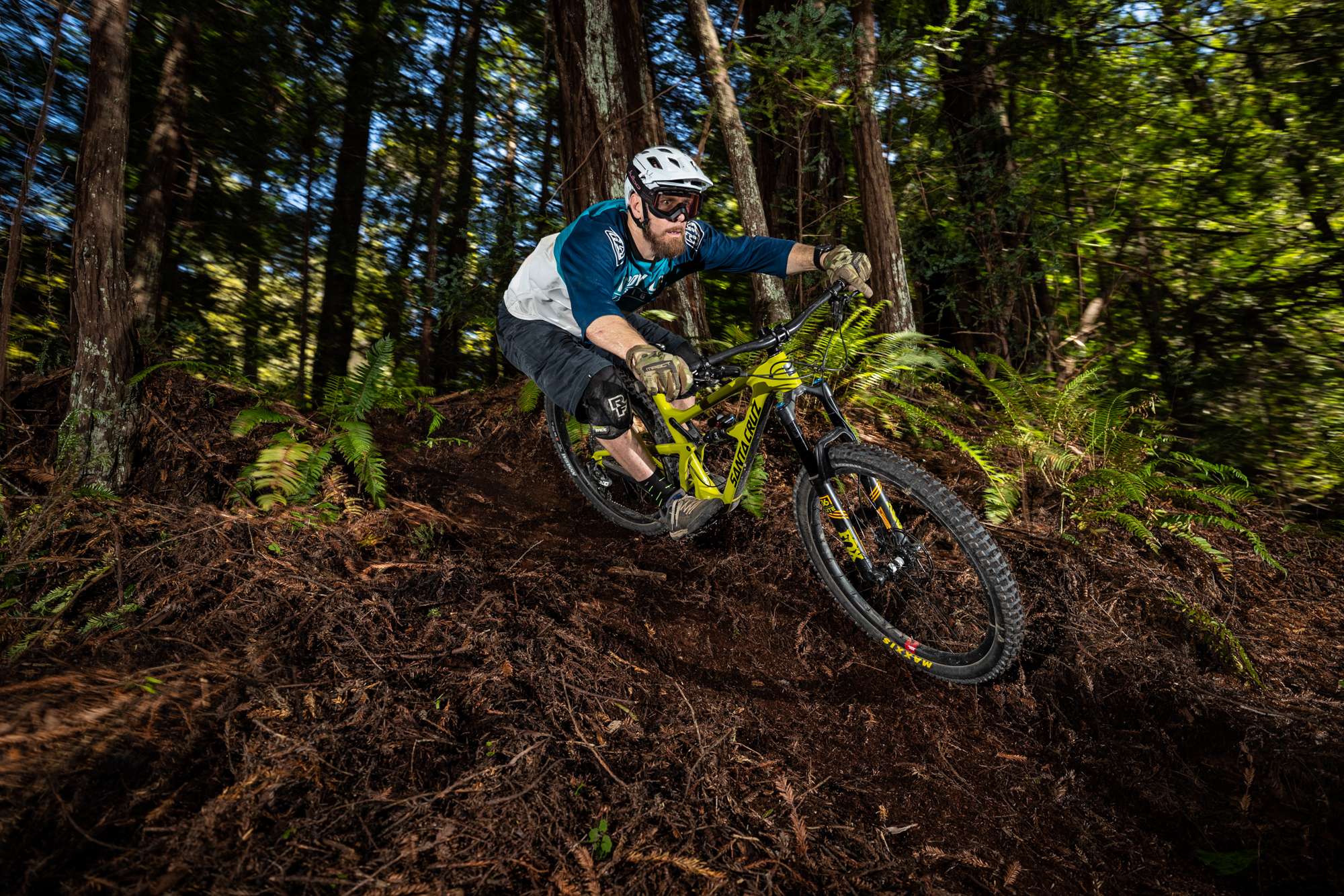 Dropping into the loam, where the Assegai roam - All photos by: Forrest Arakawa and Maxxis