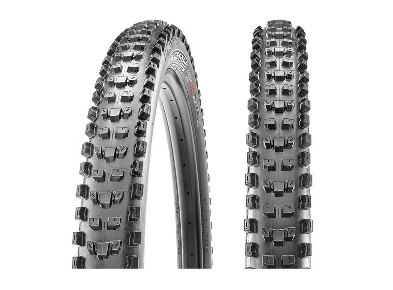 The Maxxis Dissector serves up speed without sacrificing cornering traction.