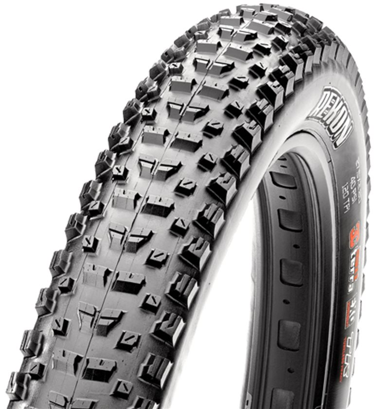 The Rekon bridges the gap between cross-country and trail tires.