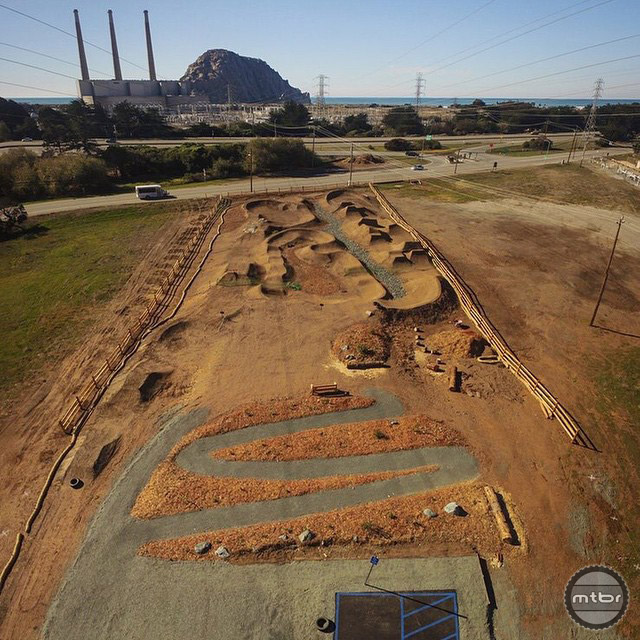Morro Bay Bike Park in Morro Bay, California. Built by Action Sports Construction.