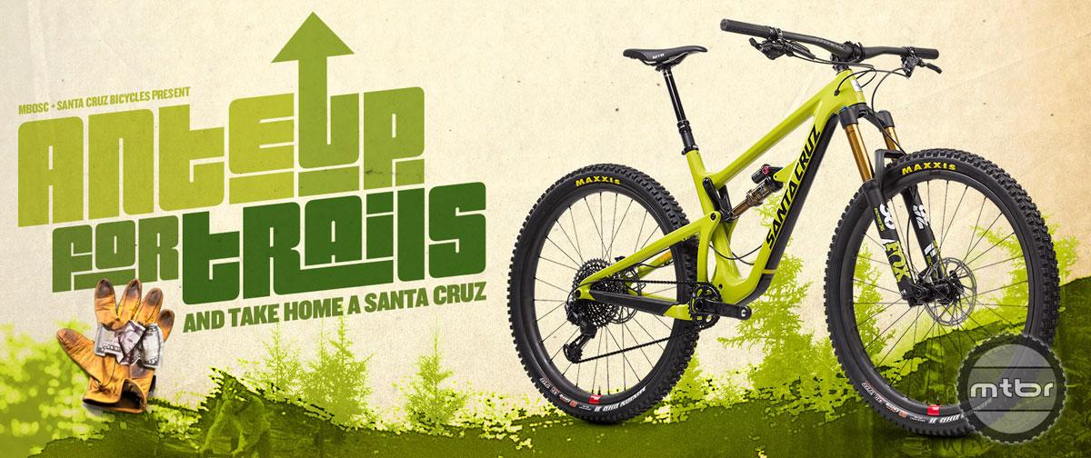 MBOSC Ante Up Santa Cruz Bike