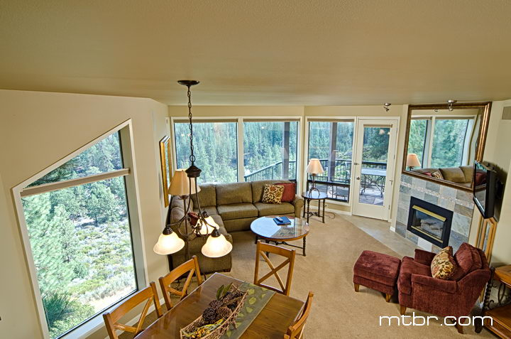 mount bachelor village resort condo interior