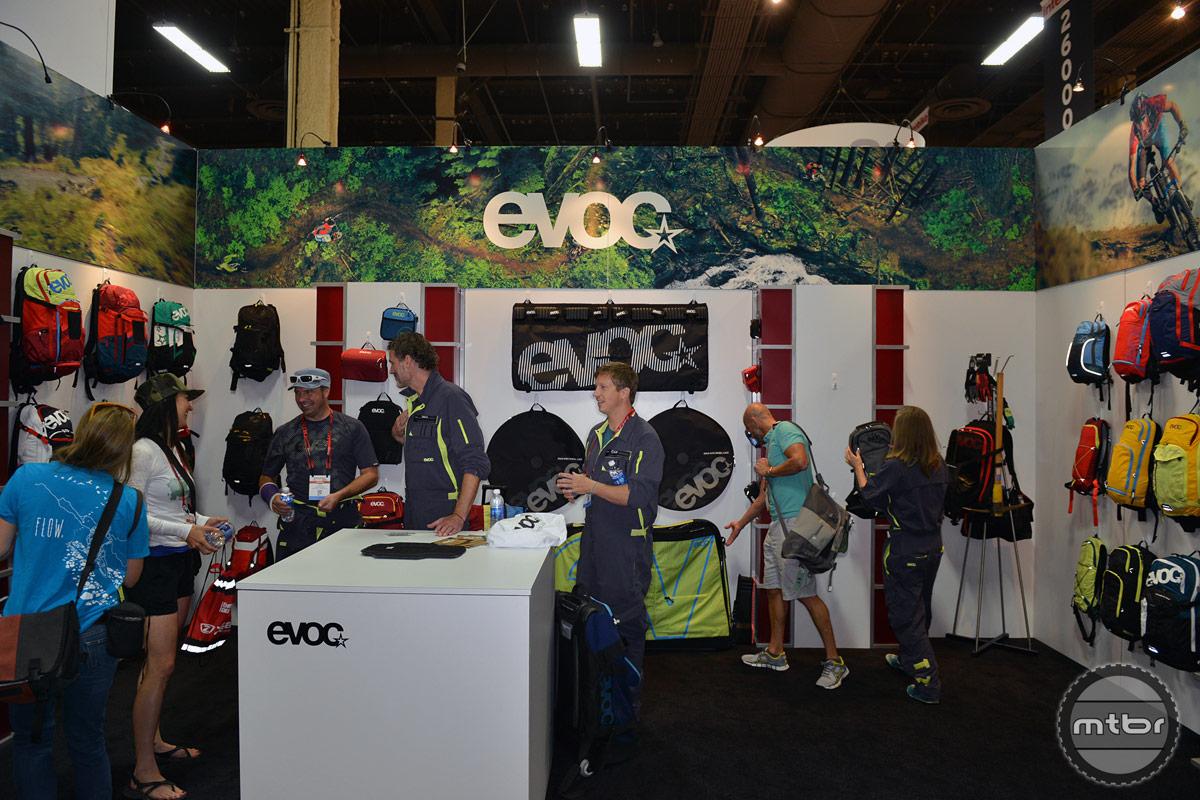 EVOC 2014 Interbike Booth