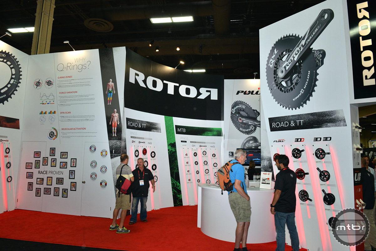 Rotor Interbike 2014 Booth