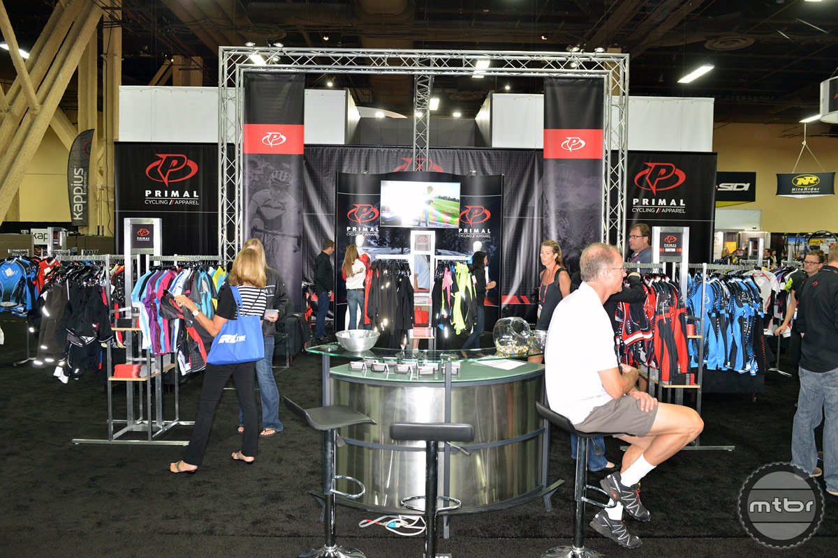 Primal Wear Interbike 2014 Booth