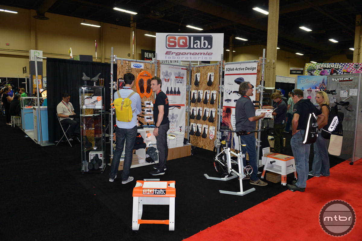 SQlab Interbike 2014 Booth