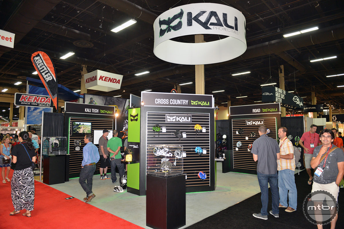 Kali Interbike 2014 Booth