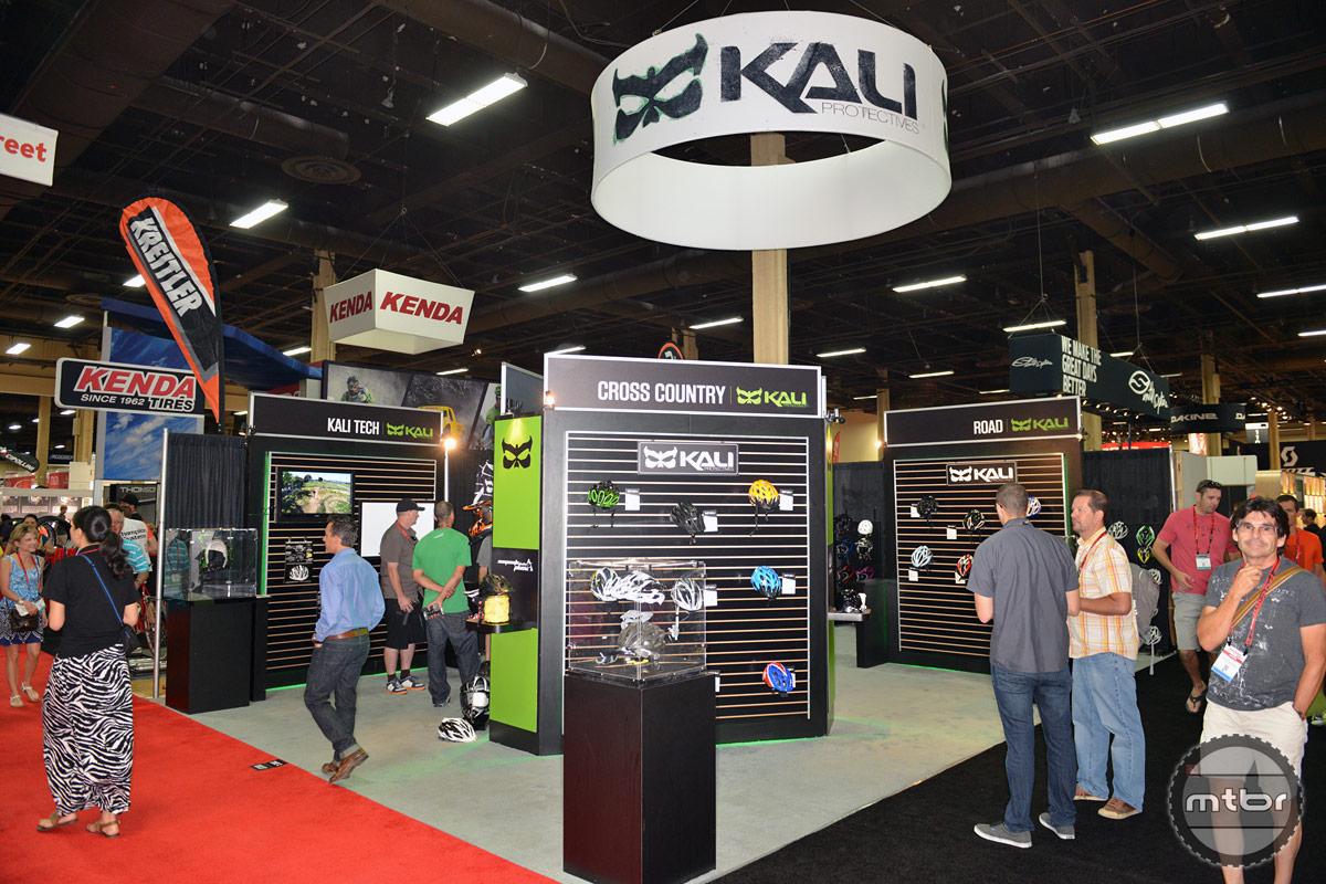 Kali Interbike 2014 Booth