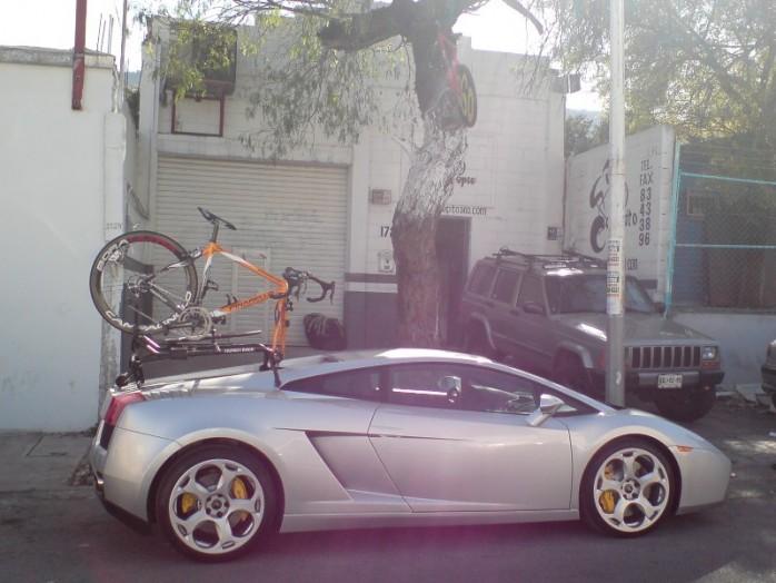 Bike Racks as Car Bling- Mtbr.com