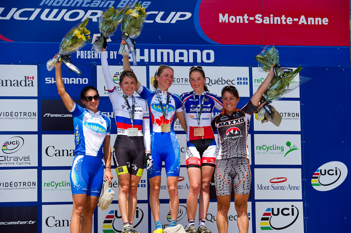 UCI 2012 XC4 World Cup Race at Mt St Anne, QC