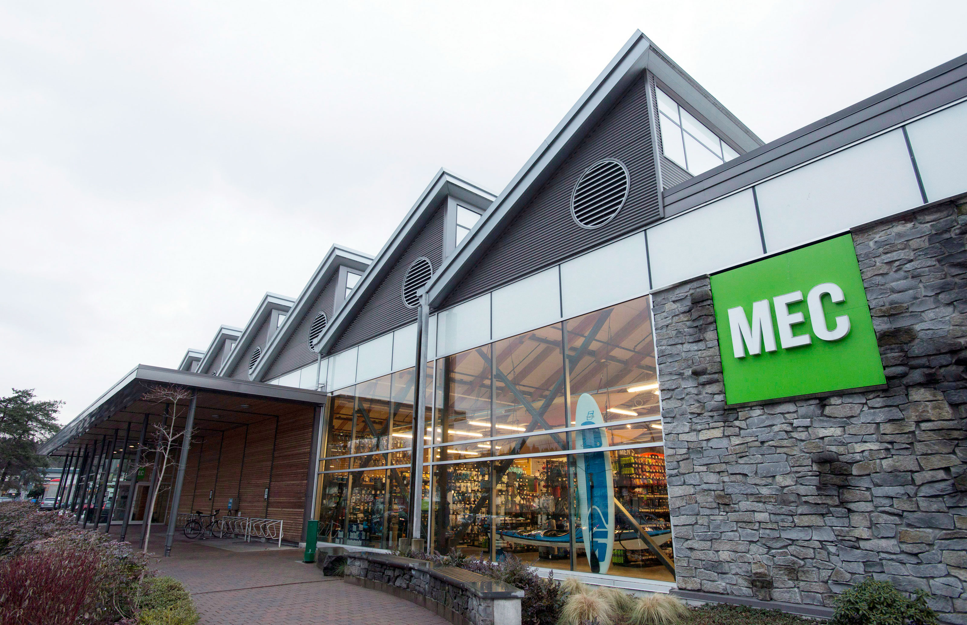MEC is the REI counterpart in Canada where the folks embrace the outdoors.