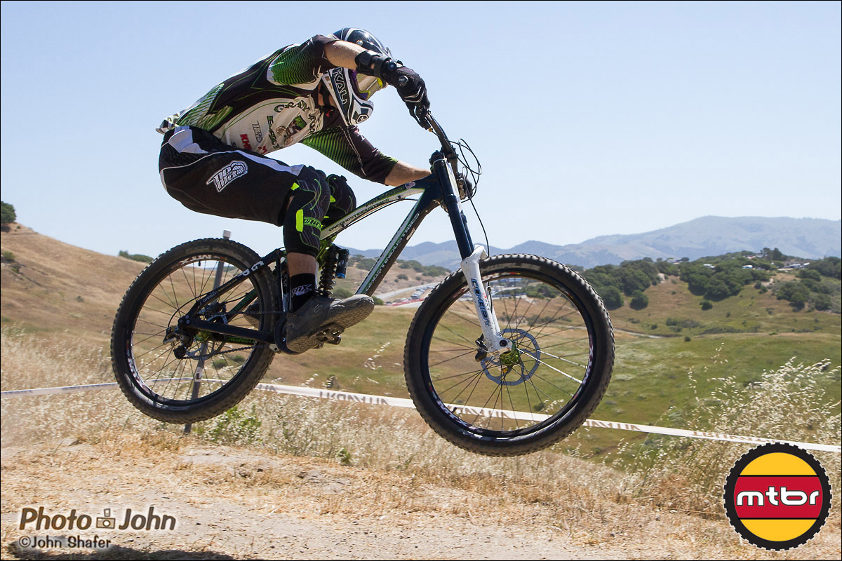 Dave Seaquist - 2013 Sea Otter Classic Pro Downhill Finals