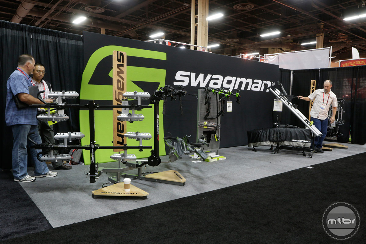 Swagman Interbike 2014 Booth
