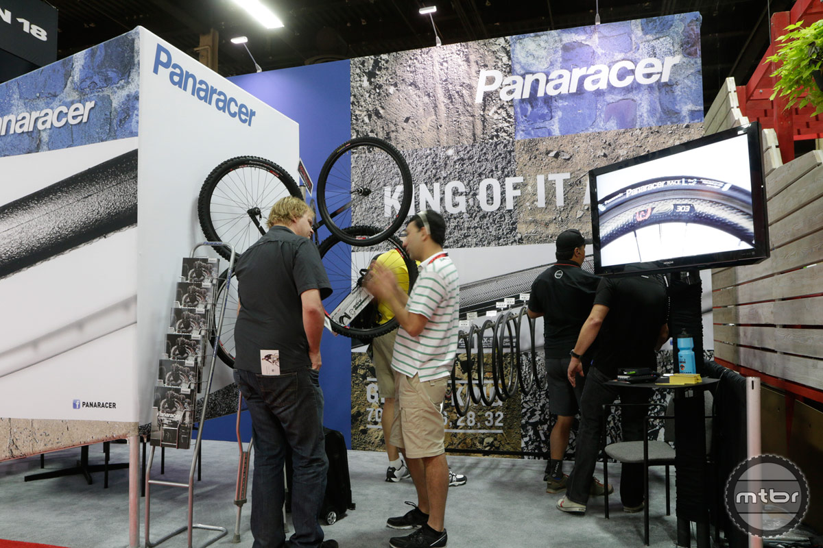 Panaracer Interbike 2014 Booth