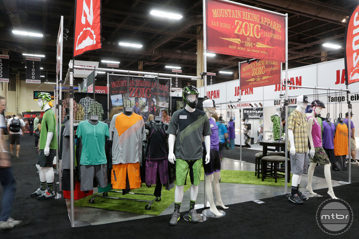 ZOIC Interbike 2014 Booth