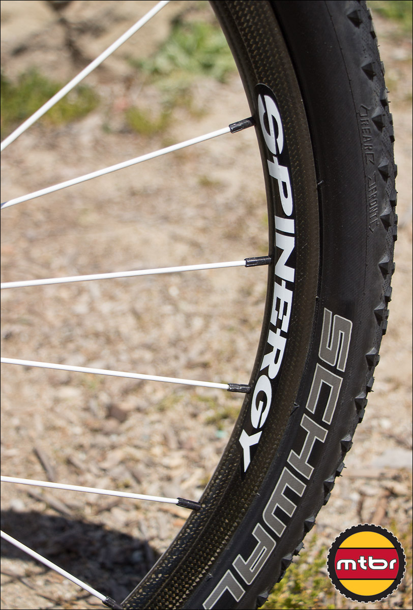 Spinergy Prototype Carbon Fiber 29er Wheel
