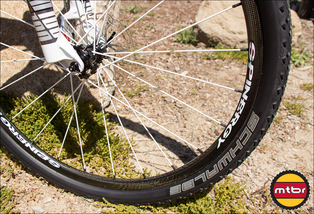 New Spinergy Carbon Fiber 29er Wheel At Sea Otter