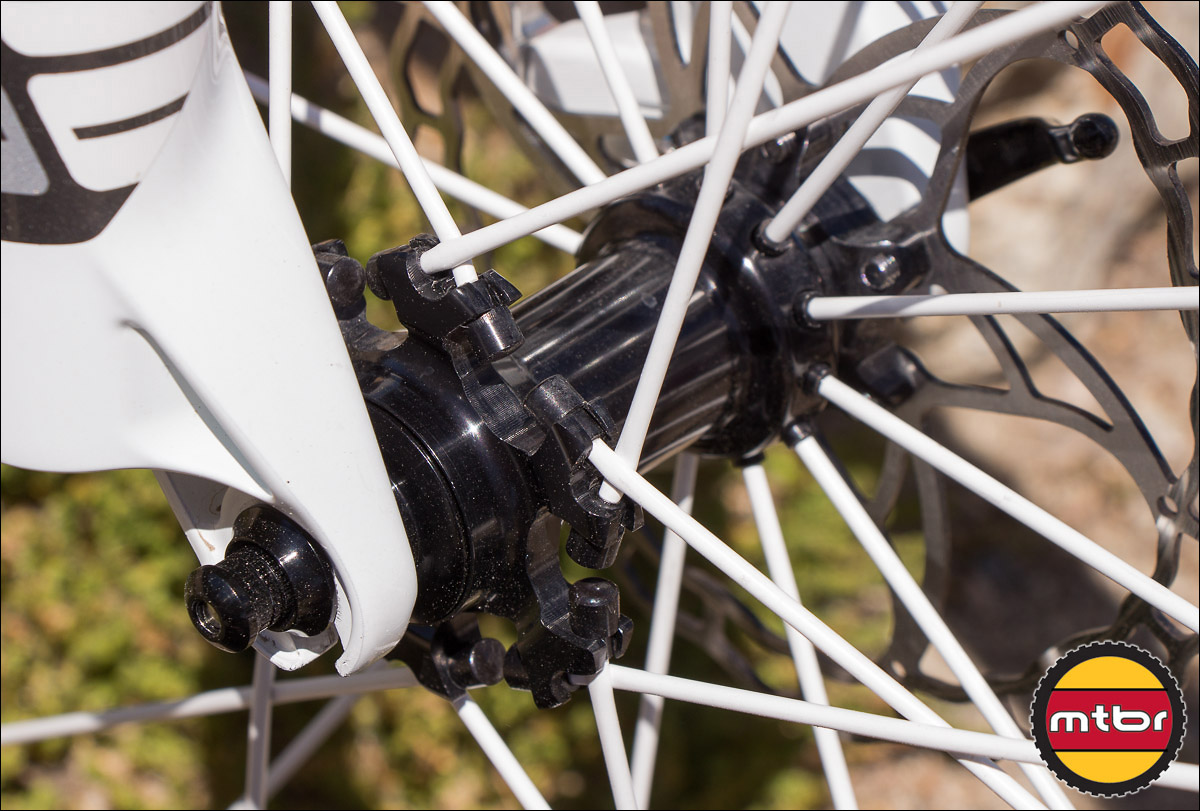 Spinergy Carbon 29er Wheelset - Front Hub