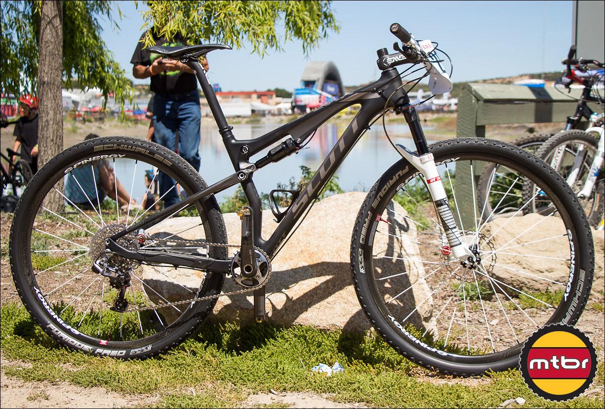 Spinergy Carbon 29er Wheelset On 19.92-Pound Scott Spark 900 Race Bike