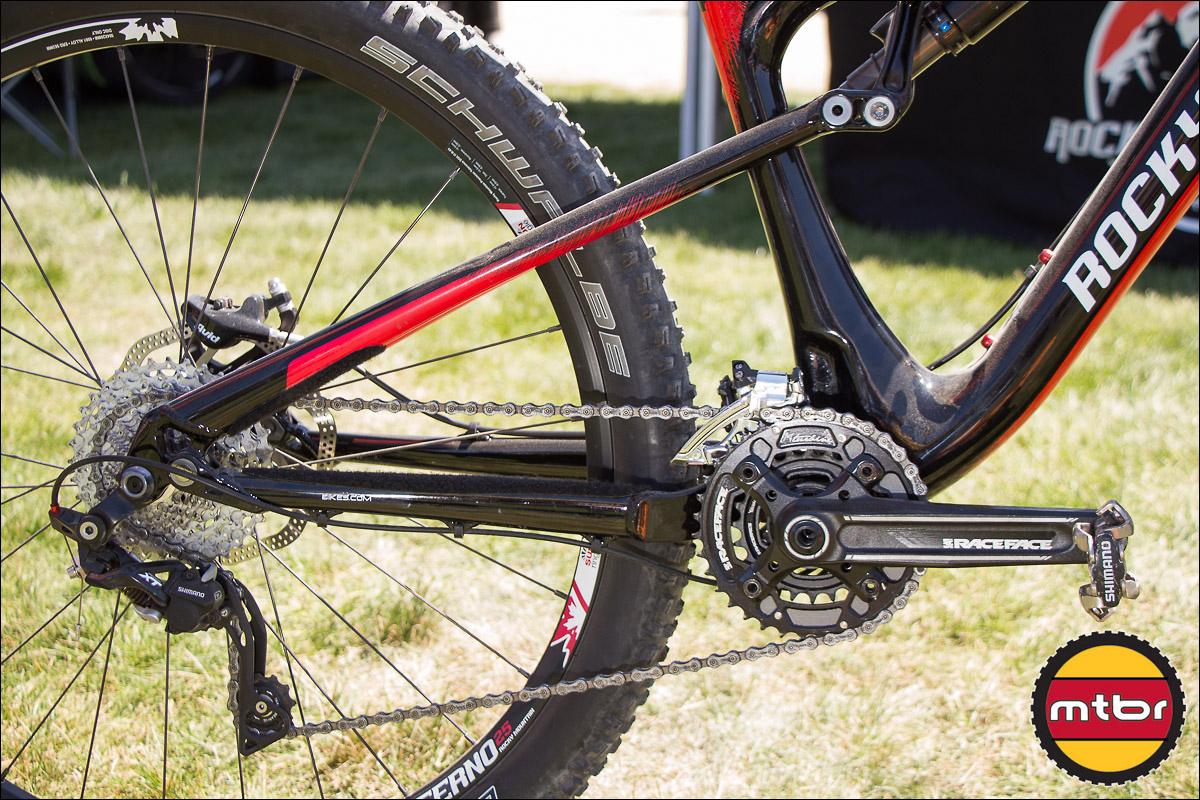 2013 Rocky Mountain Altitude 770 MSL 650b Bike - Rear Triangle