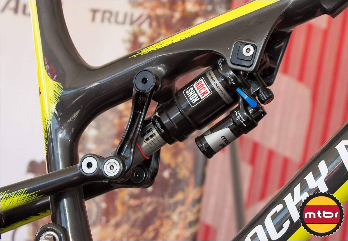 Ride-9 Adjustable Linkage On Rocky Mountain Altitude 650b Bike