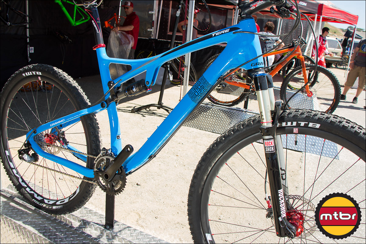 Grammo's First Full-Suspension Bike - The Tere