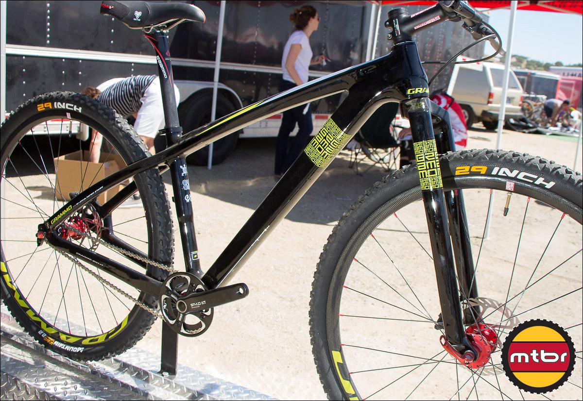 "Grammo's ""Toa"" 29-inch Carbon Fiber Hardtail Bike"