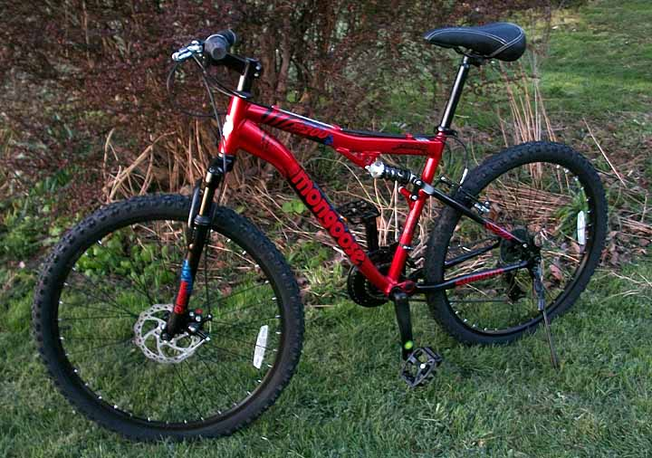 Mountain Bike Reviews >> Bike Review 199 Mongoose Xr200 Full Suspension Mtbr Com