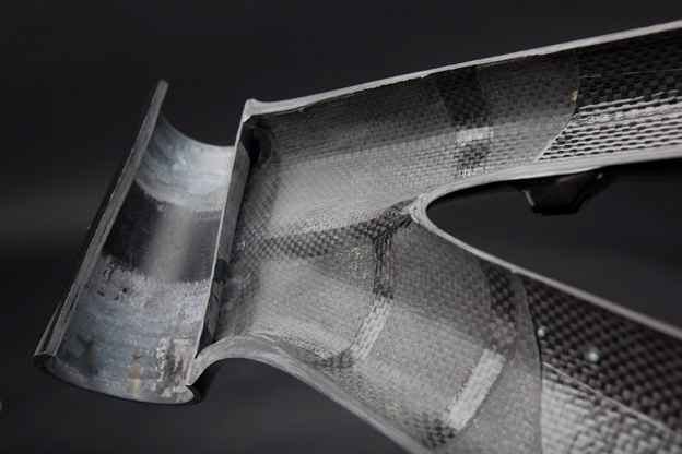 Strength, stiffness and weight can be optimized in different parts of the frame, making carbon fiber an ideal material for frame construction.