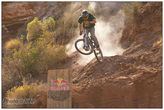 Gregg Watts - 2010 Red Bull Rampage Qualifying