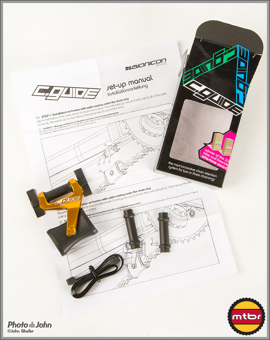 Bionicon C.Guide - Parts, Manual & Box
