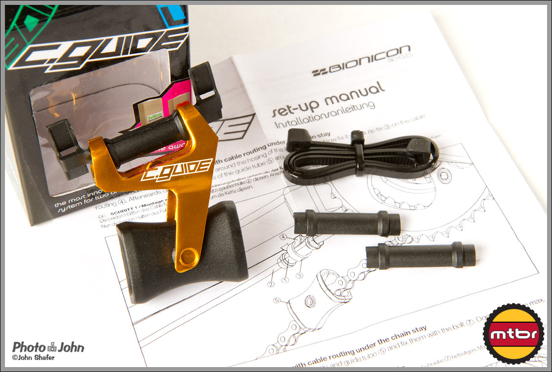 Bionicon C.Guide Chain Guide Parts & Instructions