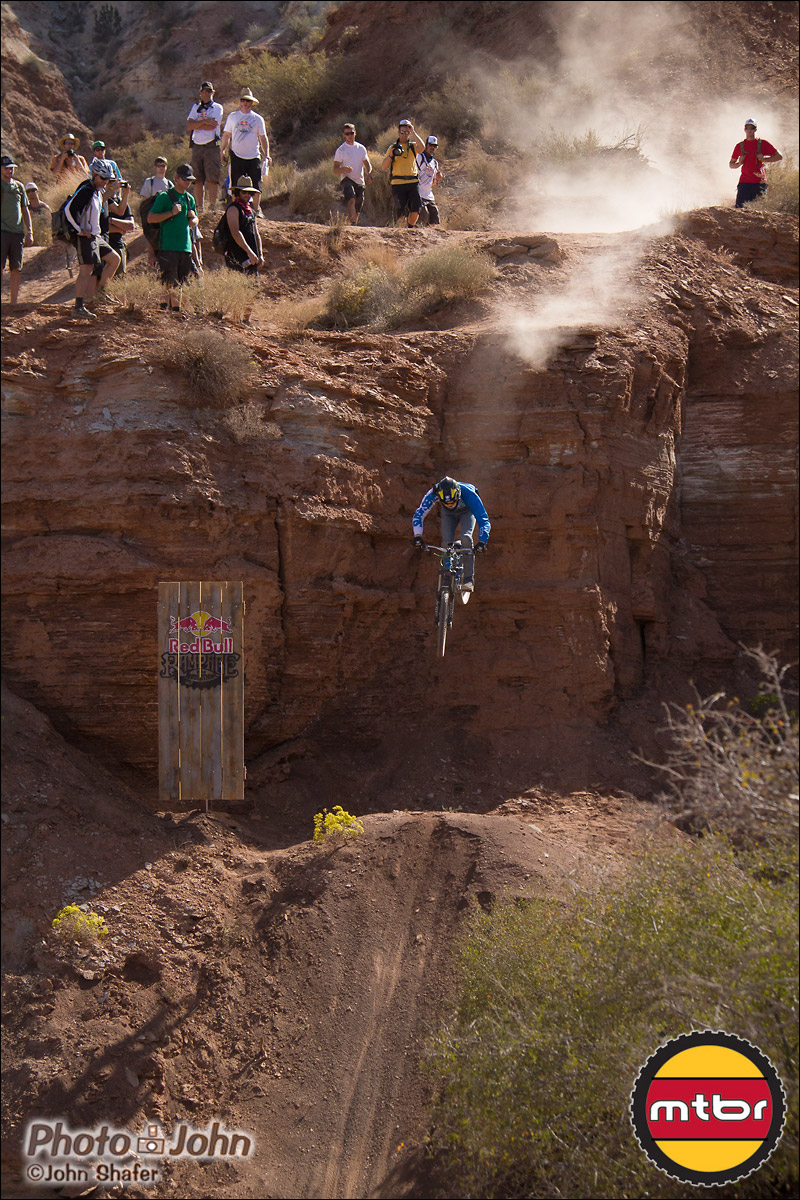 Thomas Genone Dropping - 2012 Red Bull Rampage