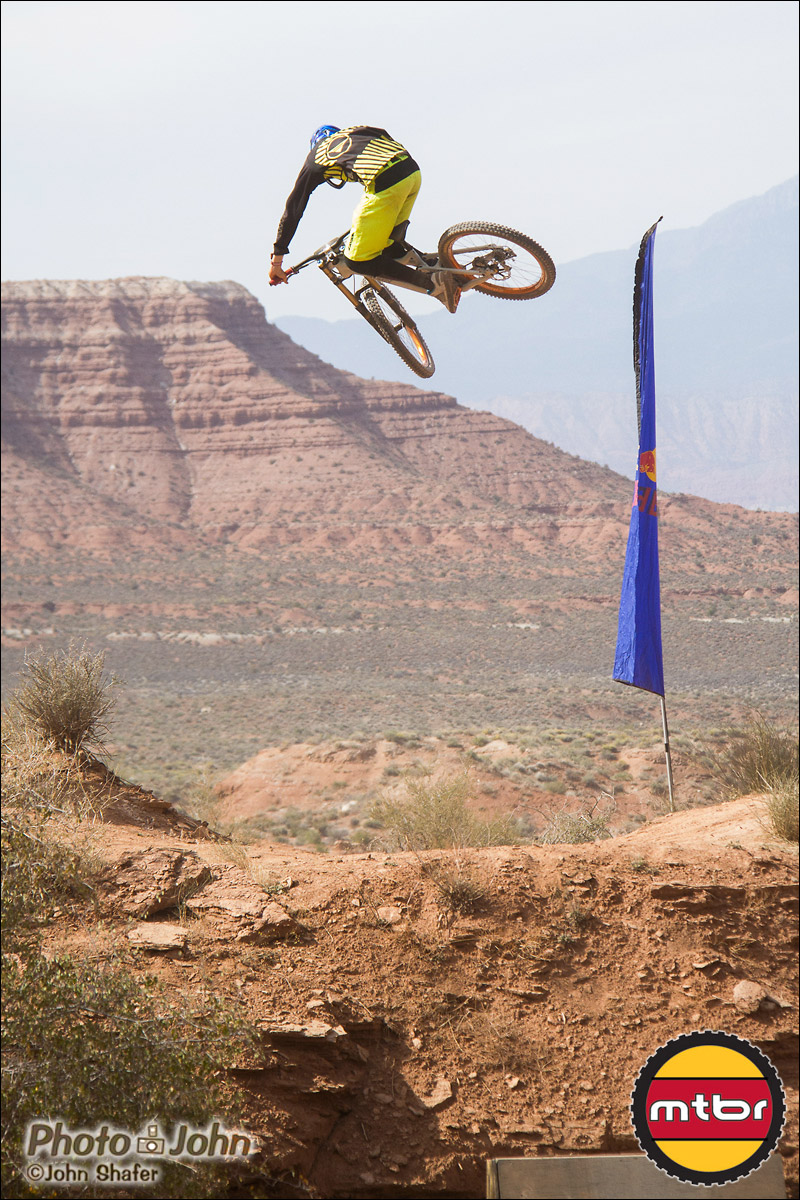 Brendan Howey Steps Up - 2012 Red Bull Rampage Qualifying