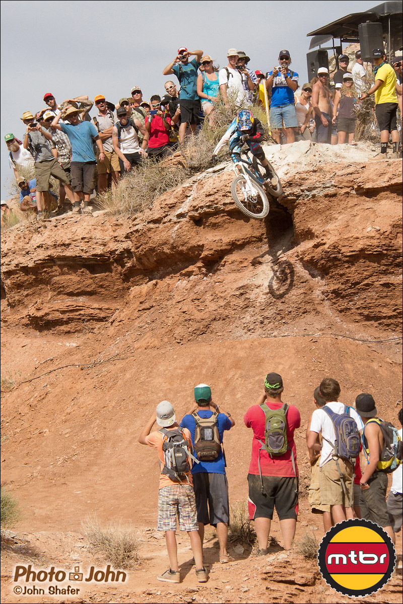 Anthony Messere And The 2012 Red Bull Rampage Qualifying Crowd