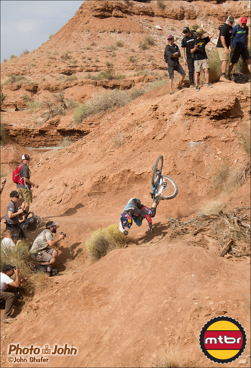 Anthony Messere Goes Down Hard - 2012 Red Bull Rampage