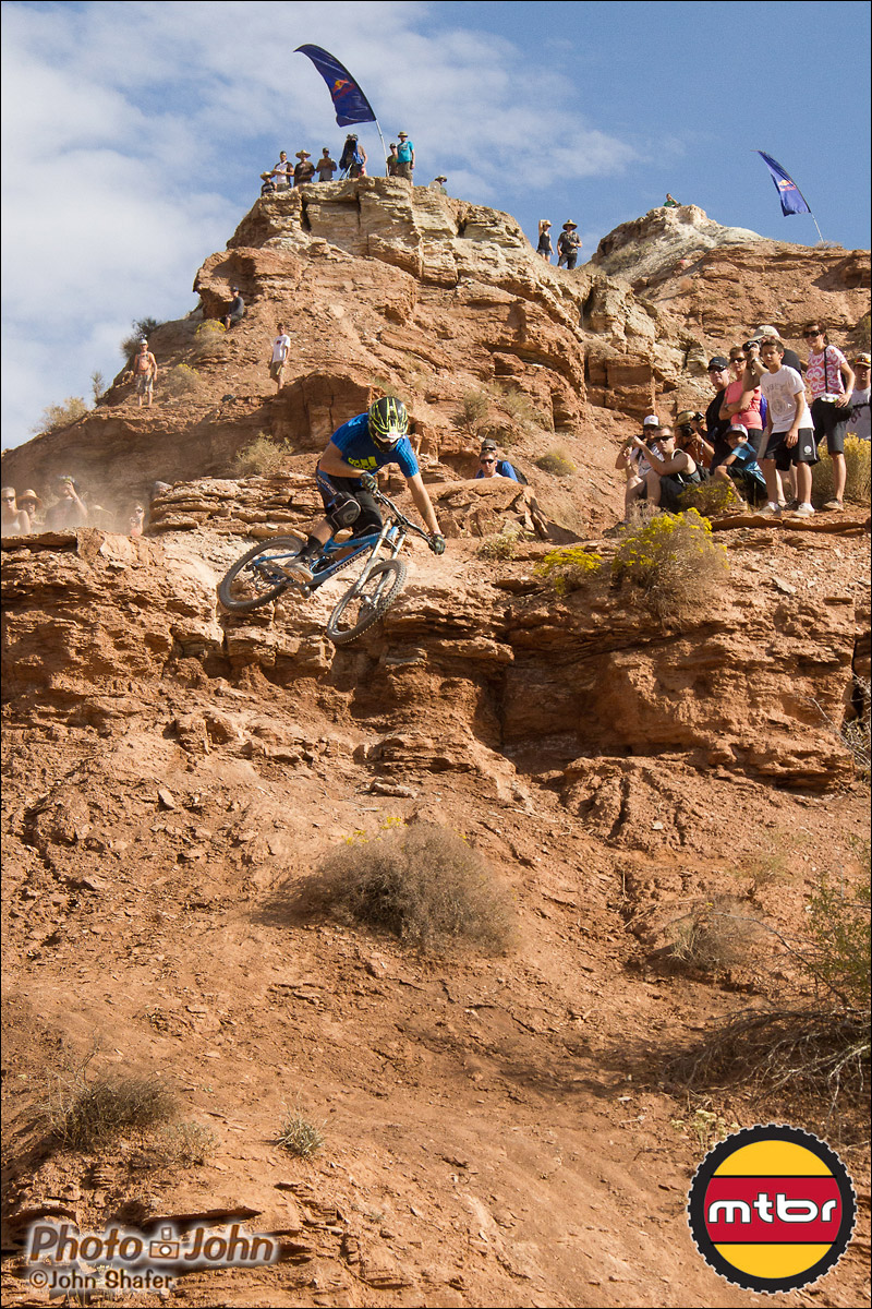 Pierre Eduard Ferry - 2012 Red Bull Rampage Qualifying