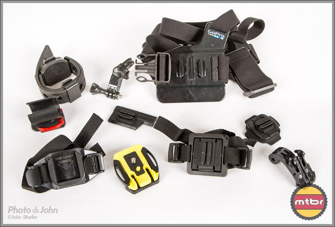 POV Camera Mounting Harnesses & Hardware