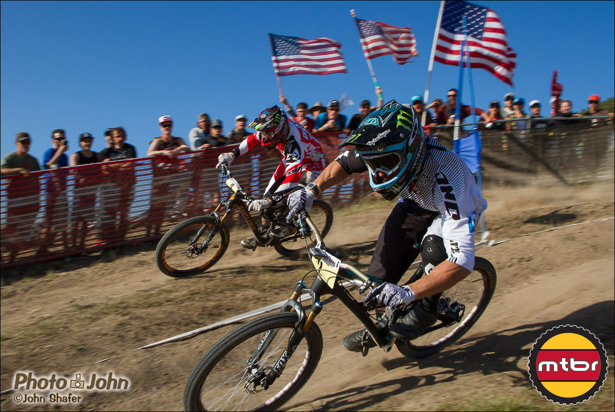 Jared Graves & Steve Peat - 2013 Sea Otter Classic Dual Slalom Finals