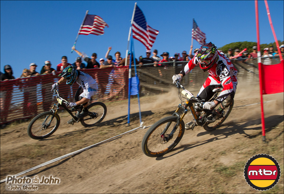 Jared Graves & Steve Peat - 2013 Sea Otter Dual Slalom Finals