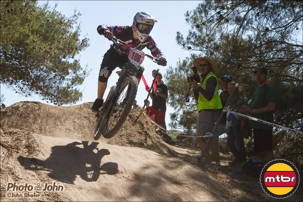 Holly Feniak - 2013 Sea Otter Pro Women's Downhill